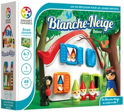 [SMA_SG024FR] Blanche-Neige - Deluxe (48 défis) Smart Games