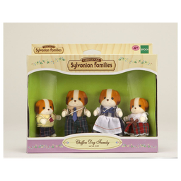 [SYL_3139] Famille Chien Chiffon SYLVANIAN FAMILIES